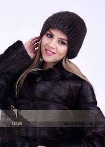 Жіноча хутрова шапка від виробника