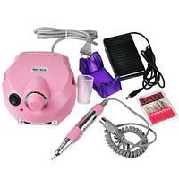 Качественная машинка для маникюра и педикюра фрезер Beauty nail DM-202. Практичный дизайн. Код: КДН2487