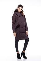 Зимнее модное пальто Карина