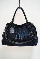 Женская сумка из натуральной кожи Polina & Eiterou Y8057-1 blue