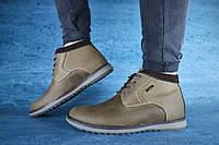 Чоловічі зимові черевики Yuves 333 (Оливка), ТОП-репліка, фото 1