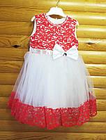 Нарядное пышное платье для девочки на 2-3 года
