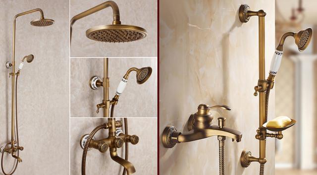 купить бронзовый смеситель для ванной в харькове