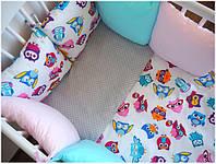 Как раскроить и пошить бортик-подушку