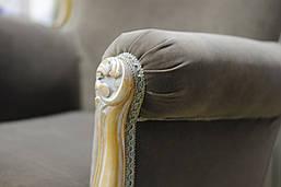 Диван + 2 кресла (пр-во Италия) , фото 3