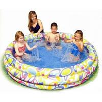 Надувной бассейн Intex 168х168х41 см (56440)