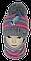 Шапка и шарф вязаный м 7090 разные цвета, фото 2