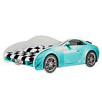 Детская кровать машина голубая AUTO S-CAR 70 x 140 Baby Boo 100252