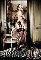 Страстные чулки с узором Side Seam Stockings With patterned cuffs