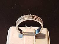 Серебряное кольцо с фианитами. Артикул 10026р 18, фото 1