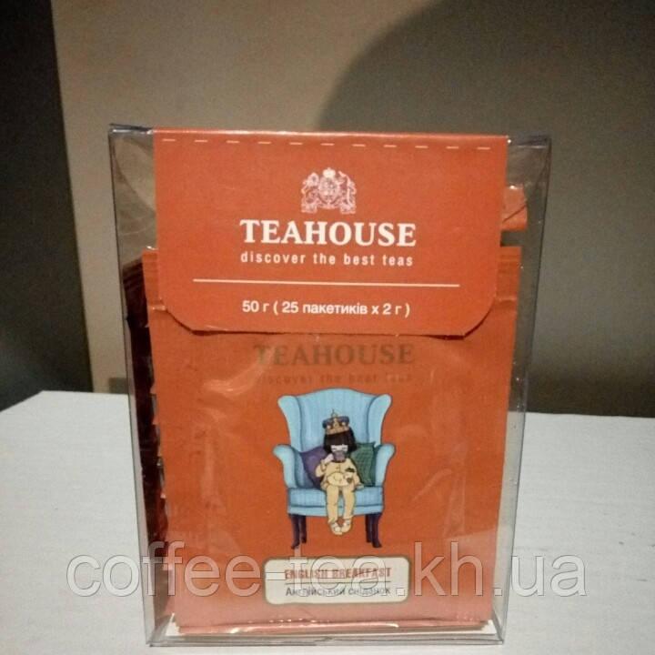 """Черный пакетированный чай """"Английский завтрак"""" 2г*25шт."""