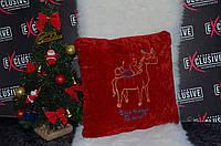 """Новогодняя подушка """"Будь всегда на коне"""""""