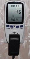 Портативный счетчик электроэнергии (ваттметр)  eu energy meter