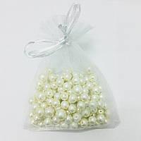 Подарочный мешочек белый 53880 размер 10x12 см
