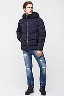 Тёплая мужская куртка со съёмным капюшоном