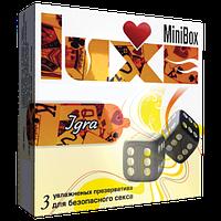 """Презервативы Luxe Mini Box """"Игра """""""