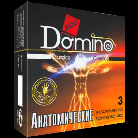 """Презервативи Domino Classic """"Анатомічні"""""""
