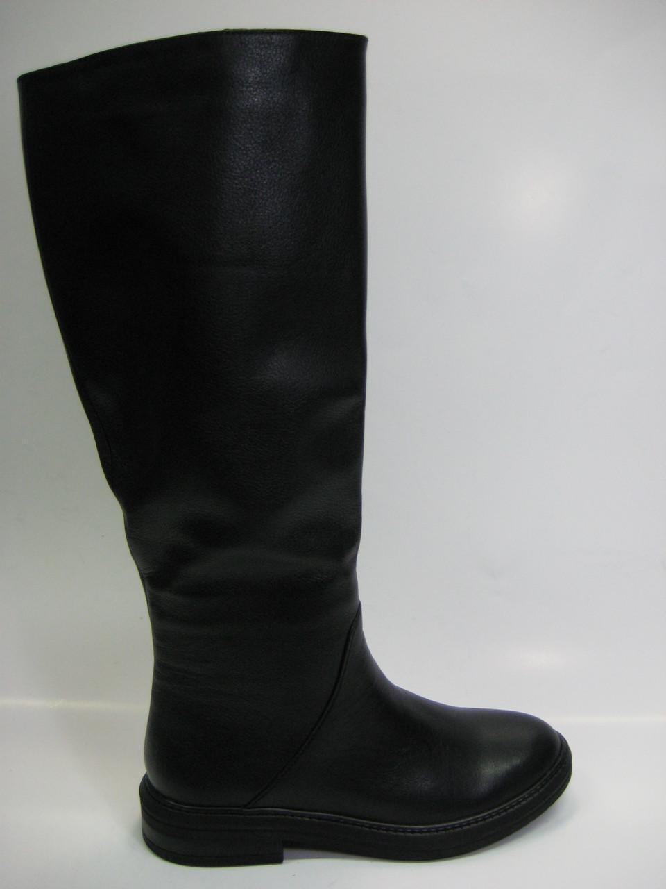 Женские кожаные сапоги евро зима ТМ Vito Villini - Взуття українських  брендів «УкрТоп» в 2521489fa02