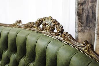 Итальянский кожаный диван, фото 3