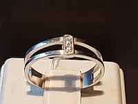 Серебряное кольцо с фианитами. Артикул 10029р 14, фото 1