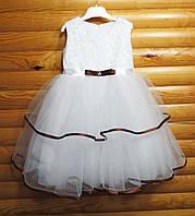 Нарядное пышное платье для девочки на 3-4 года