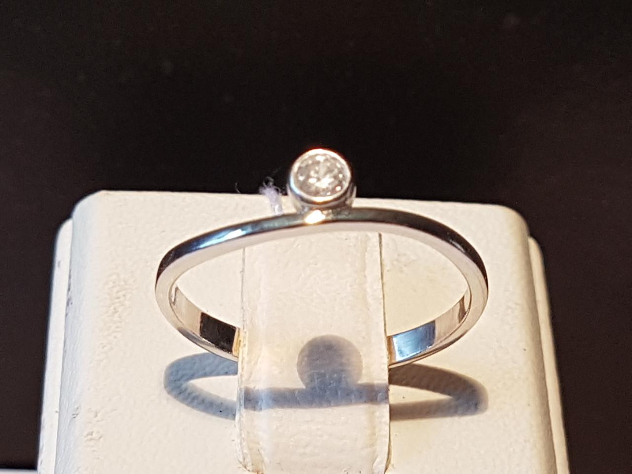 Серебряное кольцо с фианитами. Артикул 10020р
