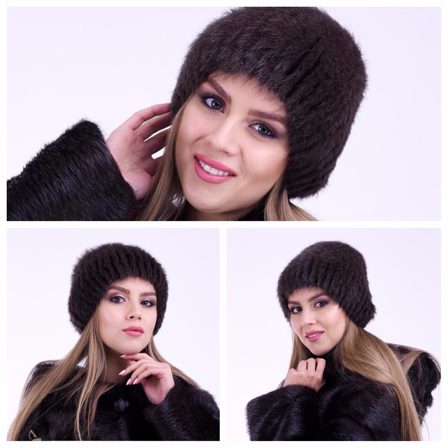 Меховая женская шапка от производителя ФОТО
