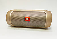 Портативная колонка JBL Charge2 беспроводная Bluetooth FM USB золото