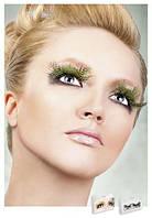 Реснички Light green Feather Eyelashes