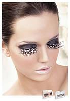 Реснички Brown-Purple Feather Eyelashes