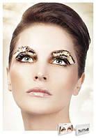 Реснички Beige-Brown Feather Eyelashes