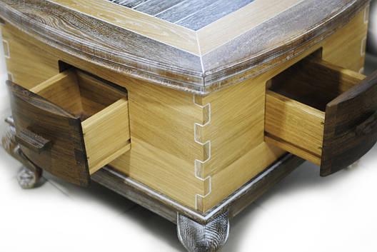 Столик из мореного дуба, фото 2