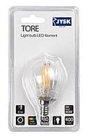 Лампочка TORE 4W E14 LED 400 люмен M4961100