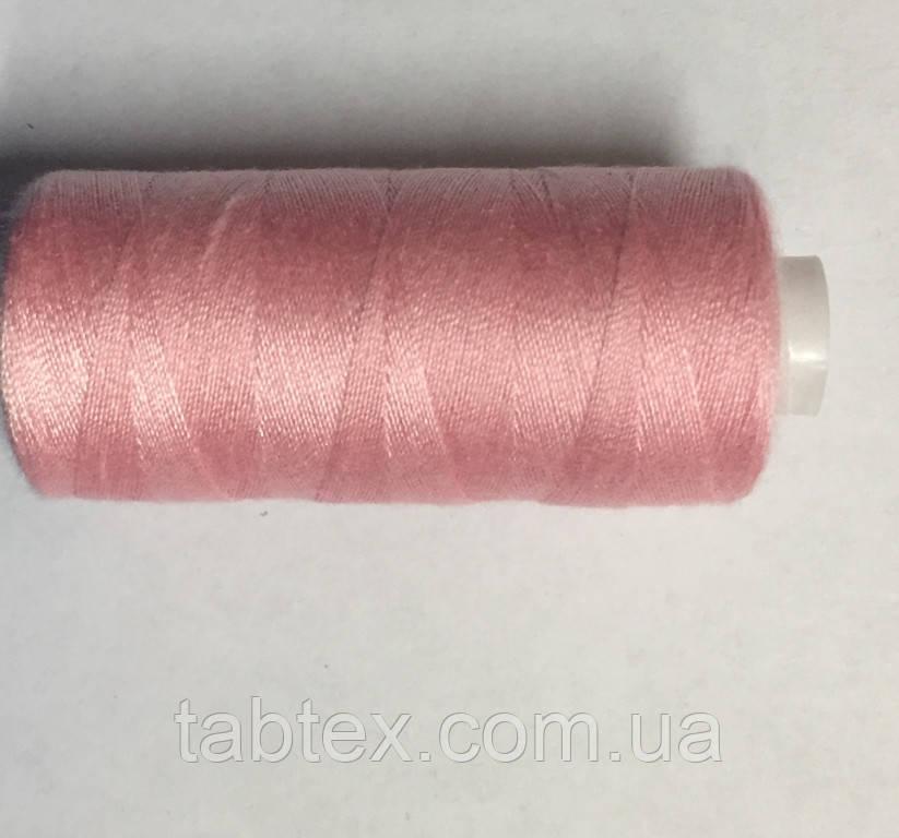 Нитка швейная 40/2 400ярд. D 131 розовый