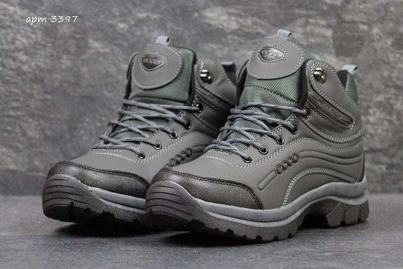 2670b99d461ce5 Чоловічі зимові черевики Ecco сірі (3397) , цена 898 грн./пара ...