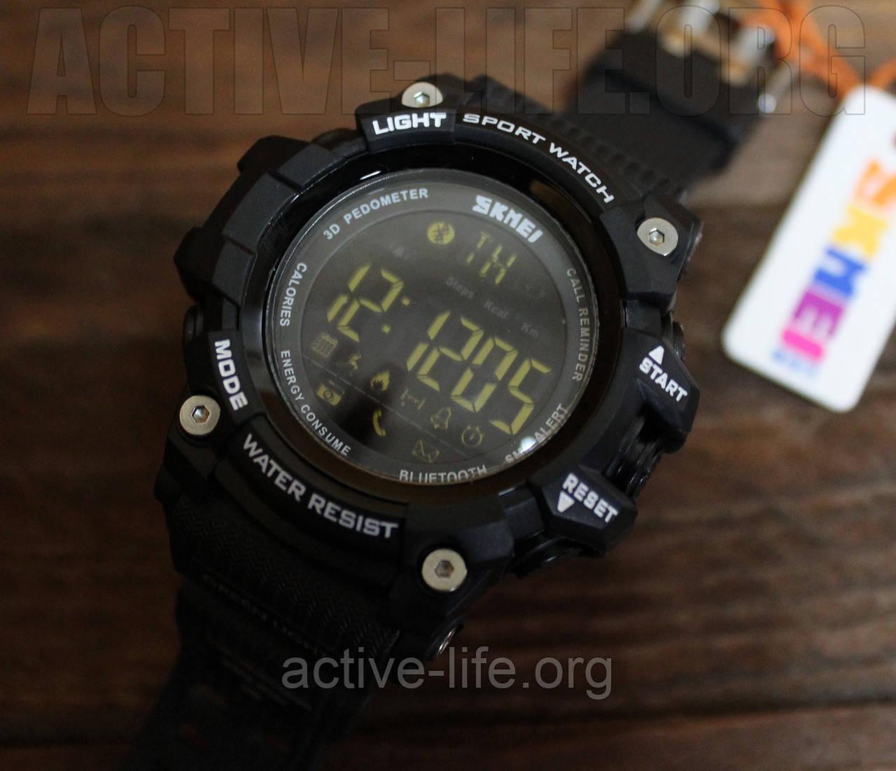 Спортивные часы Skmei Smart ( bluetooth) watch 1227 (black ) New 2017 Гарантия! , фото 1