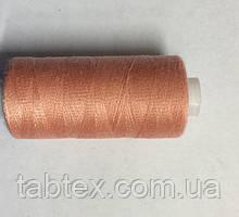 Нитка швейная 40/2 400ярд. D 143 т.розовый