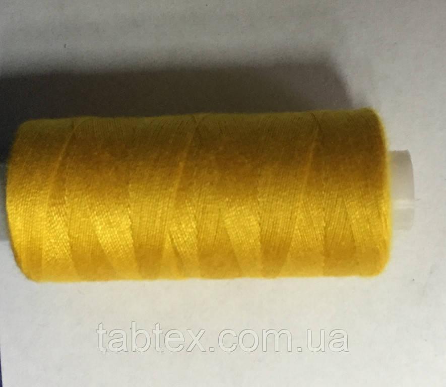 Нитка швейная 40/2 400ярд. D 170 желтый