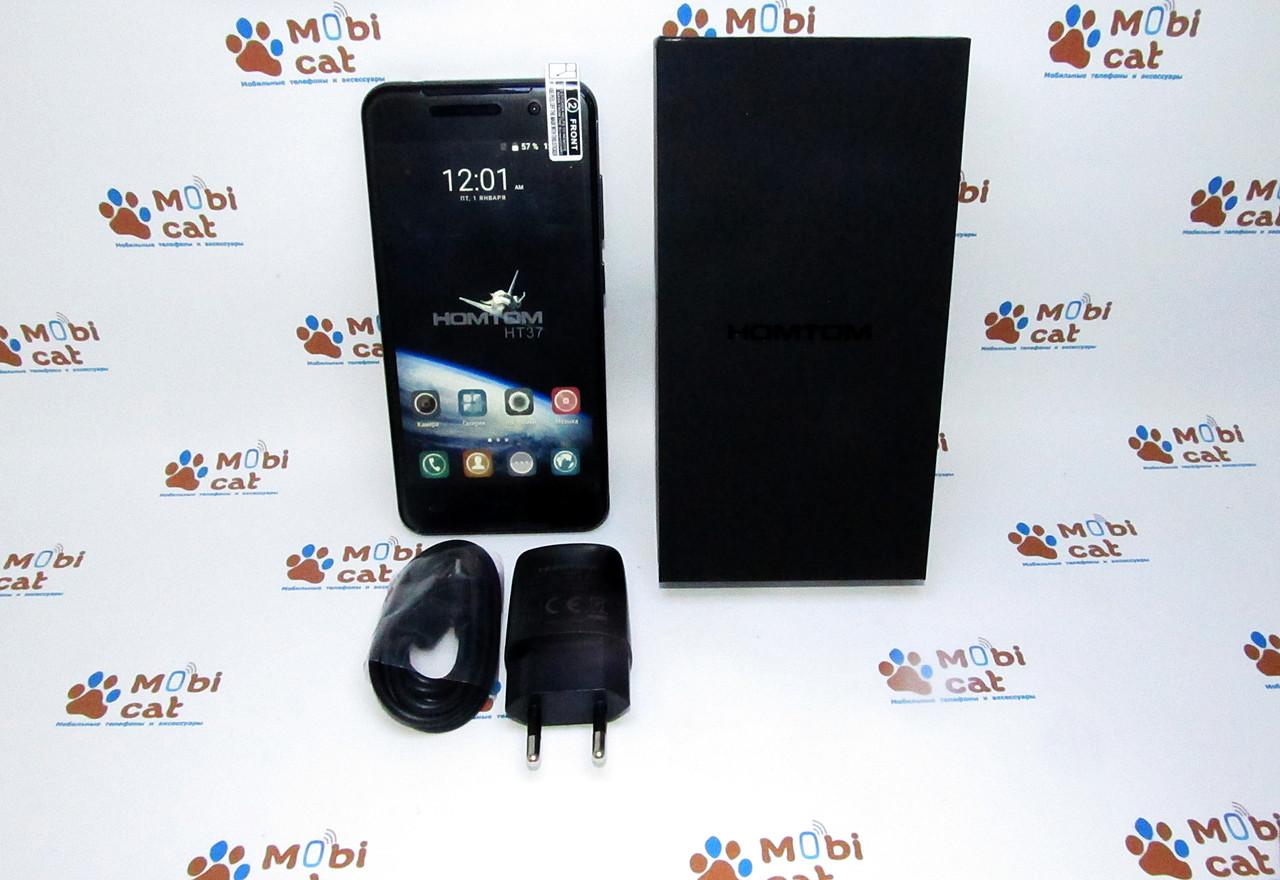 Бюджетный смартфон Homtom HT37 pro  (дешевый двухсимочный смартфон)
