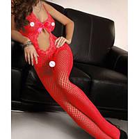 Женское эротическое белье красное 11104-б