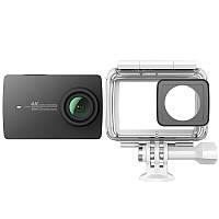 Xiaomi Yi 4K Night Black  Экшн-камера + Аквабокс