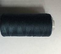 Нитка швейная 40/2 400ярд. D 179 синий джинс.