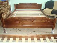 Двуспальная кровать Каприз из массива сосны