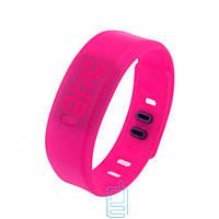 Часы наручные LED Watch Sport розовые