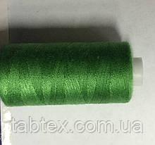 Нитка швейная 40/2 400ярд. D 211 зелёный.