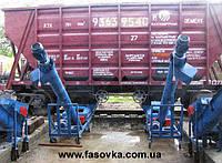 Мобильная линия разгрузки цементных вагонов-хопперов напрямую в цементовоз, 45 т/час без организации приямков.