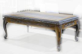 Журнальный столик из мореного дуба, фото 2