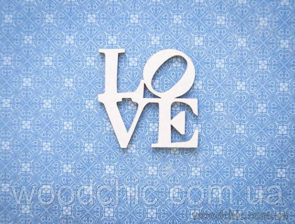 Чипборд  Love