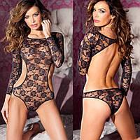 Женское эротическое белье, боди, кружевное, нижнее, сексуальное 11156, фото 1