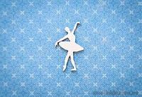 Чипборд Балерина 2